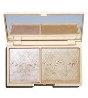 Makeup Revolution, CHOCOLATE ROSE GOLD GLOW, MINI Paleta rozświetlaczy, 11.2 g