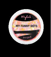 MylaQ, Ozdoba paznokci, M208-1, My Funny Dots SUNSET, 3 g