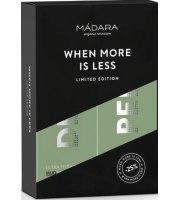 MÁDARA, Zestaw Duo Ultra, Oczyszczająca maseczka DETOX i Aktywna rozjaśniająco peelingująca maseczka AHA, 120 ml
