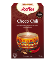 Yogi Tea, Choco Chili, Herbata Czekoladowa z chili, 17 torebek