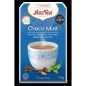 Yogi Tea, Choco Mint, Ajurwedyjska herbata czekoladowo - miętowa, 17 torebek