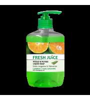 Fresh Juice, Kremowe mydło w płynie GREEN TANGERINE & PALMAROSA, 460 ml, 500 ml