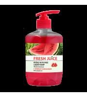 Fresh Juice, Kremowe mydło w płynie, WATERMELON, 460 ml