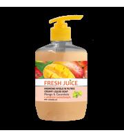 Fresh Juice, Kremowe mydło w płynie, MANGO & CARAMBOLA, 460 ml