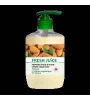 Fresh Juice, Kremowe mydło w płynie, ALMOND, 460 ml
