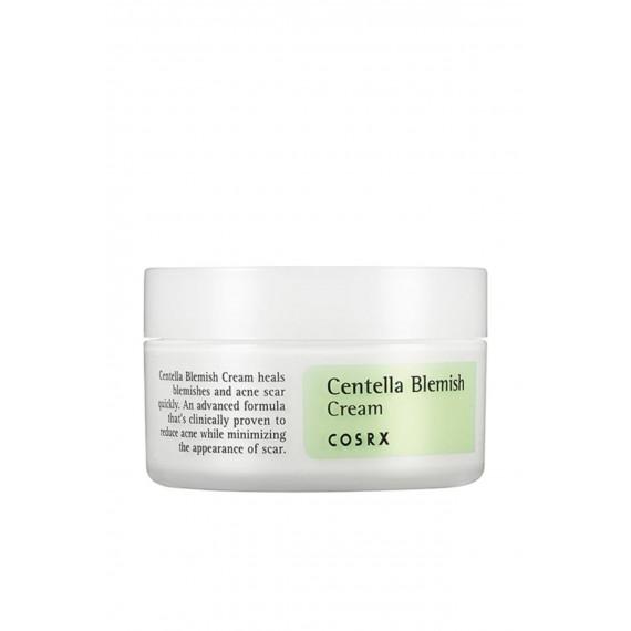 COSRX, Centella Blemish Cream, Krem do twarzy z wąkrotą azjatycką, 30 ml