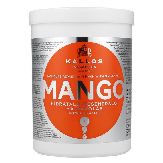 Kallos, Maska do włosów z olejkiem mango, 1000 ml