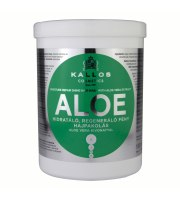 Kallos, Aloesowa maska do włosów, 1000 ml