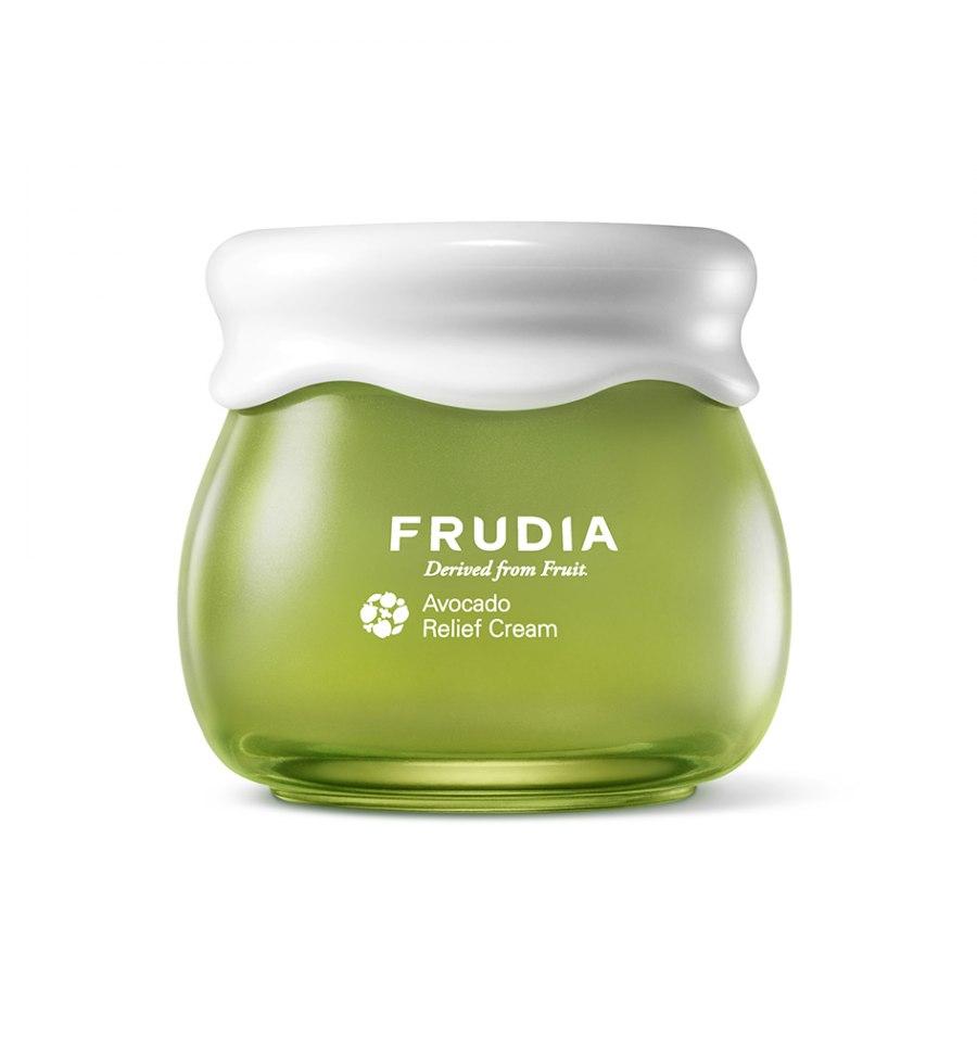 Frudia, Avocado Relief Cream, Odżywczo-regenerujący krem do twarzy, 55 g