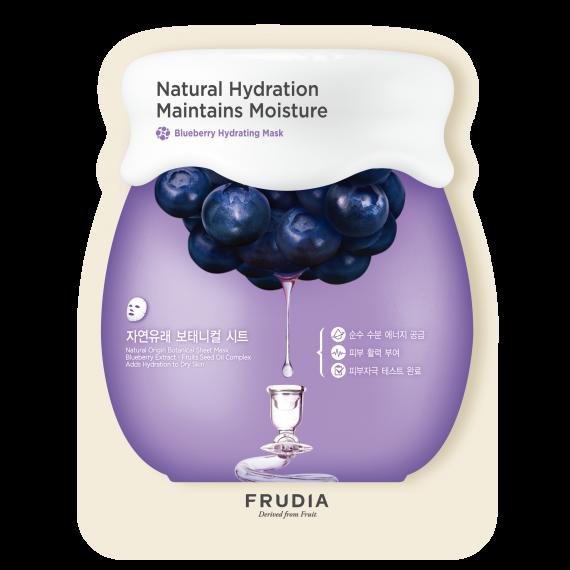 Frudia, Blueberry Hydrating Mask, Nawadniająco-odżywcza maseczka w płacie, 27 ml