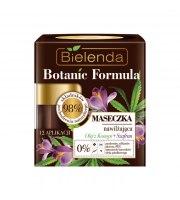 Bielenda, BOTANIC FORMULA, Maseczka nawilżająca Olej z Konopi + Szafran, 50 ml