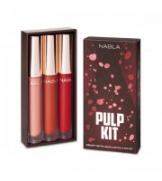 NABLA, The Pulp Kit, Zestaw matowych pomadek w płynie, 3 x 3 ml