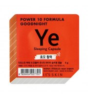 It's Skin, Power 10 Formula YE, Good Night Sleeping Capsule, Dwufazowa maseczka całonocna, 5 g