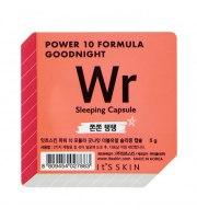 It's Skin, Power 10 Formula WR, Good Night Sleeping Capsule, Przeciwzmarszczkowa dwufazowa maseczka całonocna, 5 g