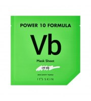 It's Skin, Power 10 Formula VB, Mask Sheet, Regulująca maska w płacie z wit. z B, 25 ml