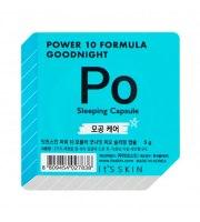 It's Skin, Power 10 Formula PO, Good Night Sleeping Capsule, Dwufazowa maseczka całonocna zwężająca pory, 5 g