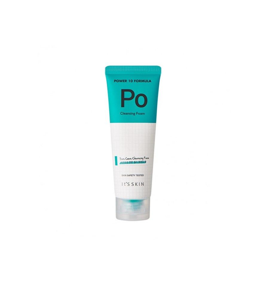 It's Skin, Power 10 Formula PO, Cleansing Foam, Pianka do mycia twarzy oczyszczająca pory, 120 ml