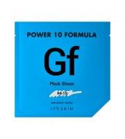 It's Skin, Power 10 Formula GF, Mask Sheet, Intensywnie nawilżająca maska w płacie z wyciągiem ze śnieżnego grzyba, 25 ml