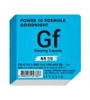It's Skin, Power 10 Formula GF, Good Night Sleeping Capsule, Intensywnie nawilżająca dwufazowa maseczka całonocna, 5 g