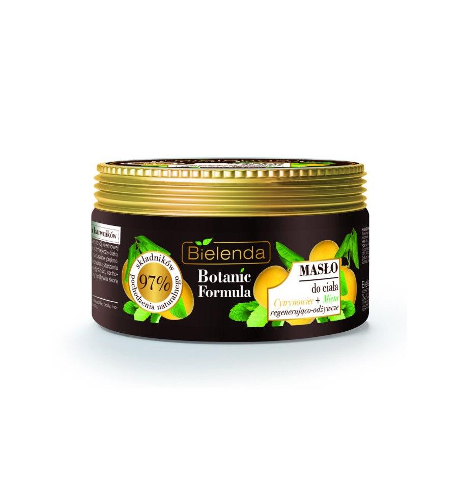 Bielenda, BOTANIC FORMULA, Masło do ciała Cytrynowiec + Mięta, 250 ml