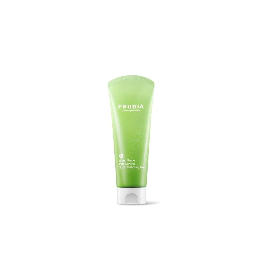 Frudia, Green Grape Pore Control Scrub Cleansing Foam, 145 ml