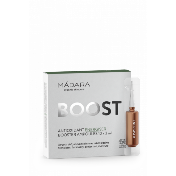Madara Boost Antioxidant Energiser, Booster Ampoules 10x3 ml