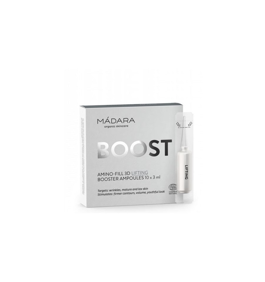 Madara, Boost Antioxidant Energiser, Booster Ampoules,10x3 ml