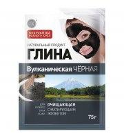 Fitokosmetik, Glinka wulkaniczna czarna - oczyszczająca, 75g
