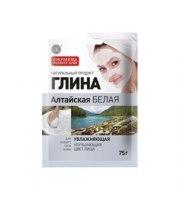 Fitokosmetik, Glinka ałtajska biała - nawilżająca, 75 g