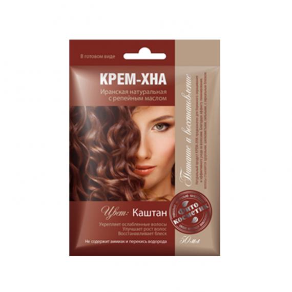 Fitokosmetik, Krem - henna, kasztan, naturalna henna irańska, 50 ml