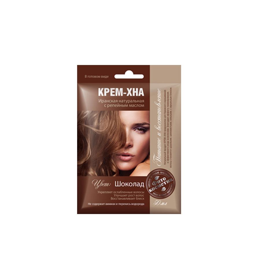 Fitokosmetik, Krem - henna, czekolada, naturalna henna irańska, 50 ml