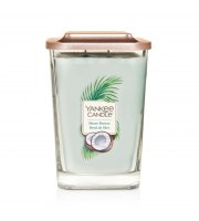 Yankee Candle, ELEVATION, SHORE BREEZE, Świeca kwadratowa duża, 552 g