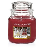 Yankee Candle, CHRISTMAS MAGIC, słoik średni, 411 g