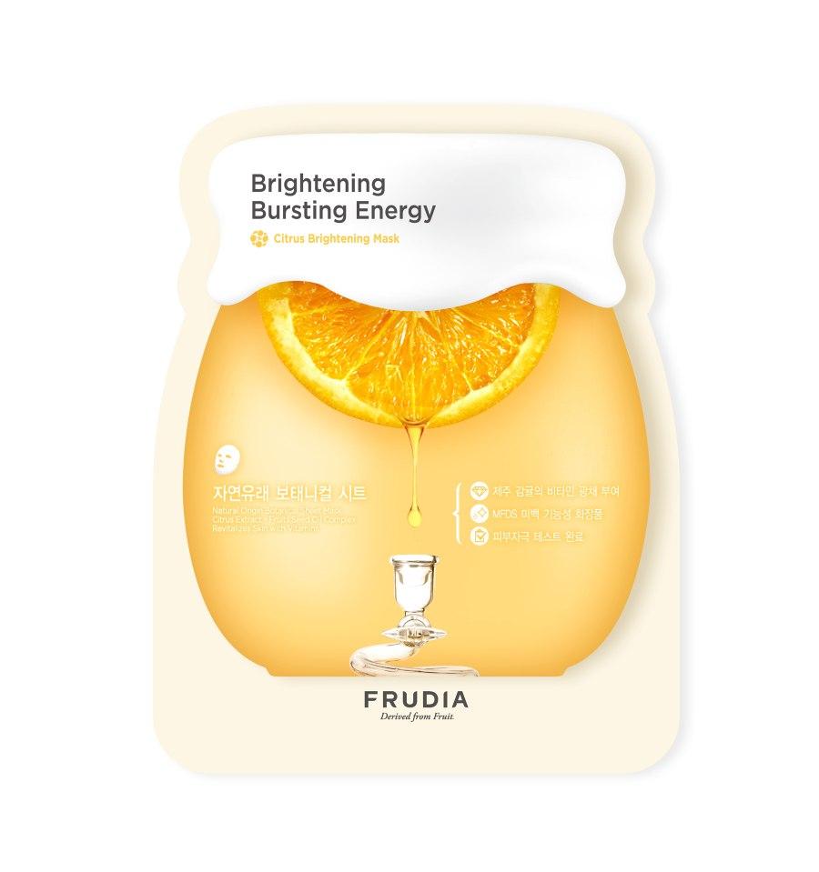 Frudia, Maseczka w płacie, Citrus Brightening Sheet Mask, 27 ml