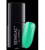 Semilac, 021 Lakier hybrydowy UV Hybrid Semilac Turquoise 7 ml