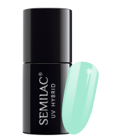 Semilac, 022 Lakier hybrydowy UV Hybrid Semilac Mint 7 ml