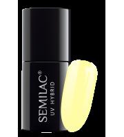 Semilac, 023 Lakier hybrydowy UV Hybrid Semilac Banana 7 ml