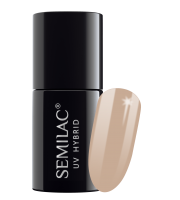 Semilac, 138 Lakier hybrydowy UV Hybrid Semilac Perfect Nude, 7ml