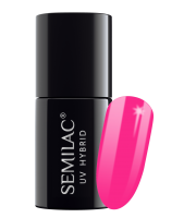 Semilac,  170 Lakier hybrydowy UV Hybrid Semilac Pink Wink 7 ml