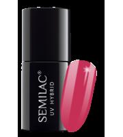 Semilac, 007 Lakier hybrydowy UV, Pink Rock, 7 ml