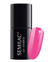 Semilac, 008 Lakier hybrydowy UV, Intensive Pink, 7 ml