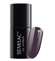 Semilac, 014 Lakier hybrydowy UV, Dark Violet Dreams, 7 ml