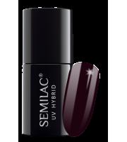 Semilac, 015 Lakier hybrydowy UV, Plum, 7 ml