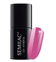 Semilac, 502 Lakier hybrydowy UV Hybrid Semilac Peculiar Plum 7ml