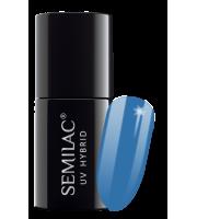 Semilac, 019 Lakier hybrydowy UV, Blue Lagoon, 7 ml