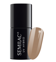 Semilac, 139 Lakier hybrydowy UV Hybrid Semilac Nuts & Caramel 7 ml