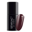 Semilac, 030 Lakier hybrydowy UV, Dark Chocolate, 7 ml