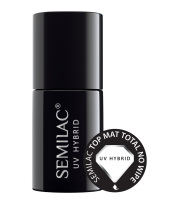 Semilac, Top Mat Total No Wipe, 7 ml