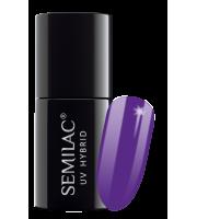 Semilac, 146 Lakier hybrydowy UV Hybrid Semilac Purple King 7 ml