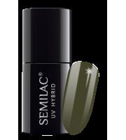 Semilac, 151 Lakier hybrydowy UV Hybrid Semilac Army Green 7 ml